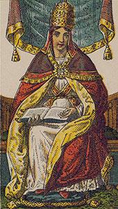 The High Priestess Tarot Italien Tarot set