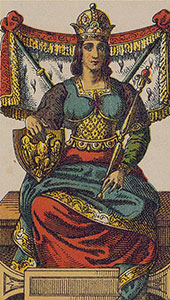 The Empress Tarot Italien tarot set