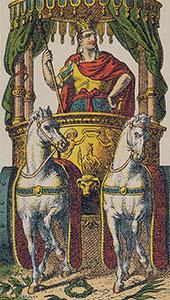 The Chariot Tarot Italien tarot set