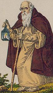 The Hermit Tarot Italien tarot set