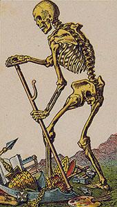 Death Tarot Italien tarot set