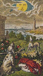 The Moon Tarot Italien tarot set
