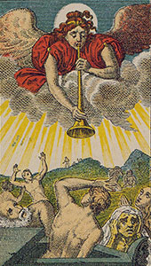 The Judgment Tarot Italien tarot set