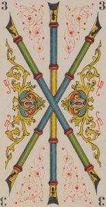 tarot-italien Three Wands
