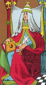 The High Priestess Tarot Oswald Wirth