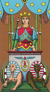The Chariot Tarot Oswald Wirth