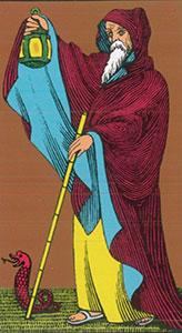 The Hermit Tarot Oswald Wirth