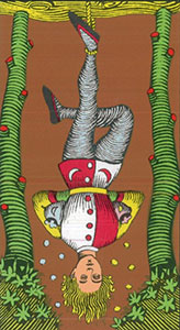 The hanged man Tarot Oswald Wirth