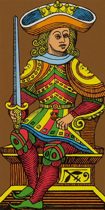 King of Swords Oswald