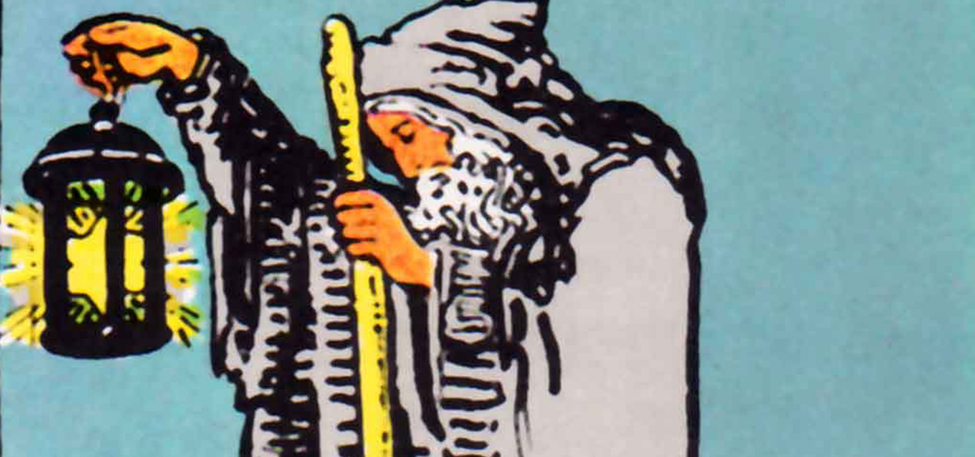 tarot stor arkana 09 - Få lagt tarotkort online af ekspert